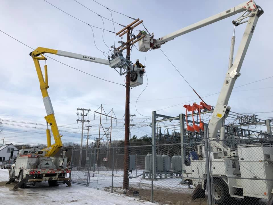 power line extention