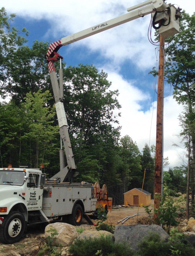 powerline construction